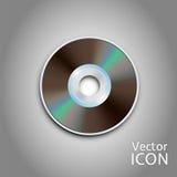 CD DVD schijf Computerschijven Realistisch beeld Royalty-vrije Stock Afbeelding