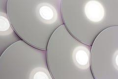 CD DVD schijven Stock Afbeeldingen
