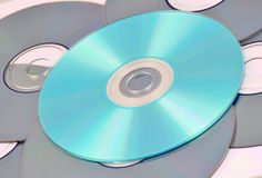 CD DVD Royalty Free Stock Photography