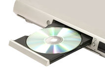 CD/DVD speler. Royalty-vrije Stock Foto's