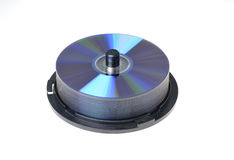 Cd dvd spindle Stock Photos