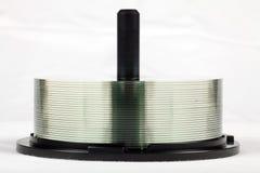 CD/DVD Spule Lizenzfreies Stockfoto