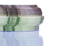 CD / DVD Stack Royalty Free Stock Image