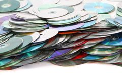 CD and DVD  technology background Royalty Free Stock Photography