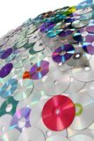 CD and DVD  technology background Royalty Free Stock Photos