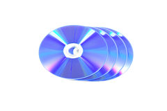 CD and DVD Royalty Free Stock Photos