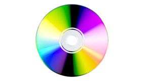 CD or DVD stock video footage