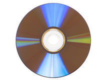 CD DVD on White Royalty Free Stock Photo