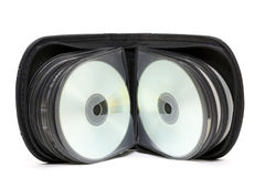 CD-/DVDplånbok arkivfoton