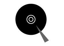 CD-/DVDplattenspielerstift lizenzfreies stockfoto