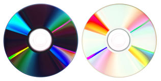 Cd/DVDs Stockbild