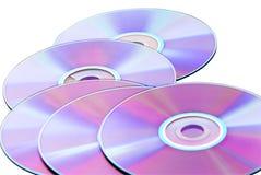 cd dvdvcd Arkivfoton