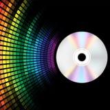 CD e compensatore illustrazione di stock