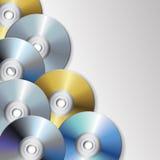 Cd e dvd ilustração do vetor