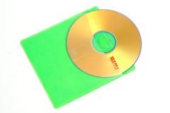 CD ed i sui vari colori Immagini Stock