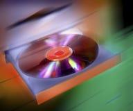 CD- eller DVD-datordrev Arkivbild