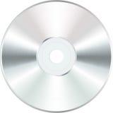 CD em branco branco Fotos de Stock Royalty Free