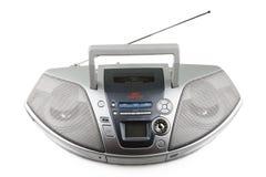 CD en cassettespeler Stock Fotografie