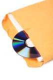 CD en document stock afbeelding