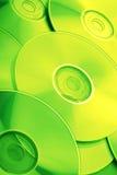 CD en dvd Stock Afbeeldingen
