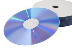 CD en dvd Stock Foto's