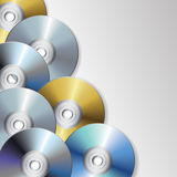CD en dvd vector illustratie