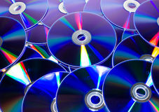 CD en dvd stock fotografie