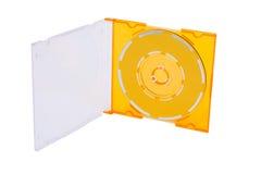 CD en rectángulo Foto de archivo libre de regalías