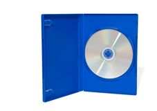 CD en rectángulo Fotografía de archivo libre de regalías