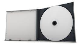 CD en un caso Fotos de archivo