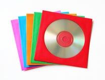 CD enveloppen Stock Foto's