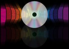 CD and Equalizer Stock Photo