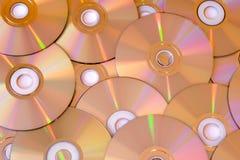 CD et DVD Image stock