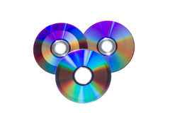 Cd et dvd Image stock
