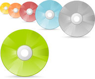 Cd et DVDs Images libres de droits