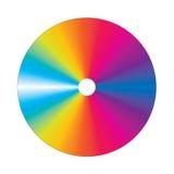 cd färgrik vektor Royaltyfri Bild