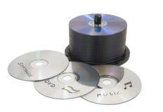 cd fördubbling Arkivfoto