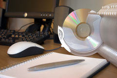 CD Filing System Royalty Free Stock Image