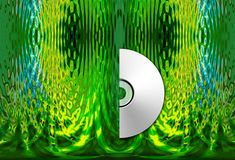Cd in forest Stock Photography