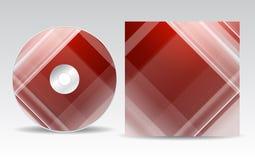 CD-Hüllen-Design Lizenzfreie Stockfotos
