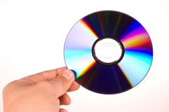 CD IN HAND Stock Photography
