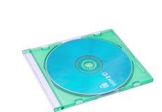 CD in het juweelgeval Stock Foto