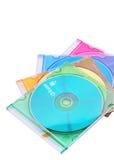 CD in het juweelgeval Stock Fotografie