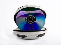 CD-houder Stock Foto
