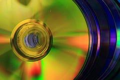 CD i DVD dane tło Obraz Stock