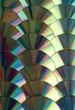 CD i DVD dane tło Zdjęcie Stock
