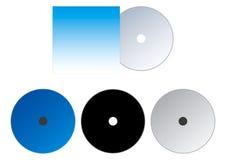 CD i okładkowa ilustracja Zdjęcie Royalty Free