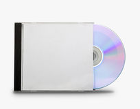 CD im offenen Kasten lizenzfreie stockfotografie