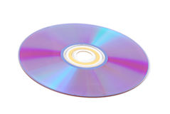 Cd isoalted Royalty Free Stock Image