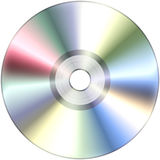 CD isolado no branco Imagem de Stock